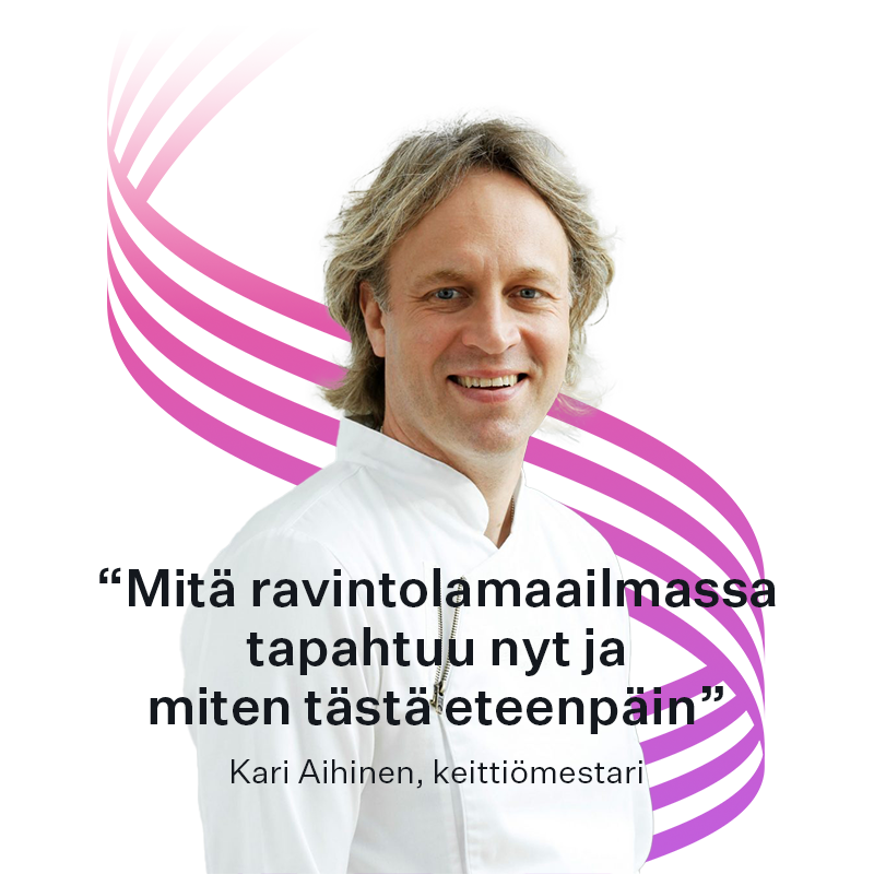 Keittiömestari Kari Aihinen
