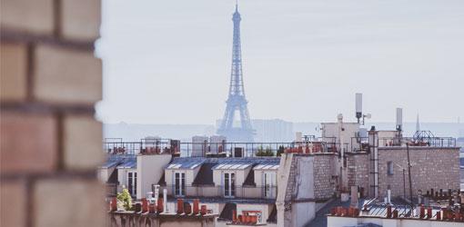Solteq blog -  Eiffel-torniin näkymä Pariisissa