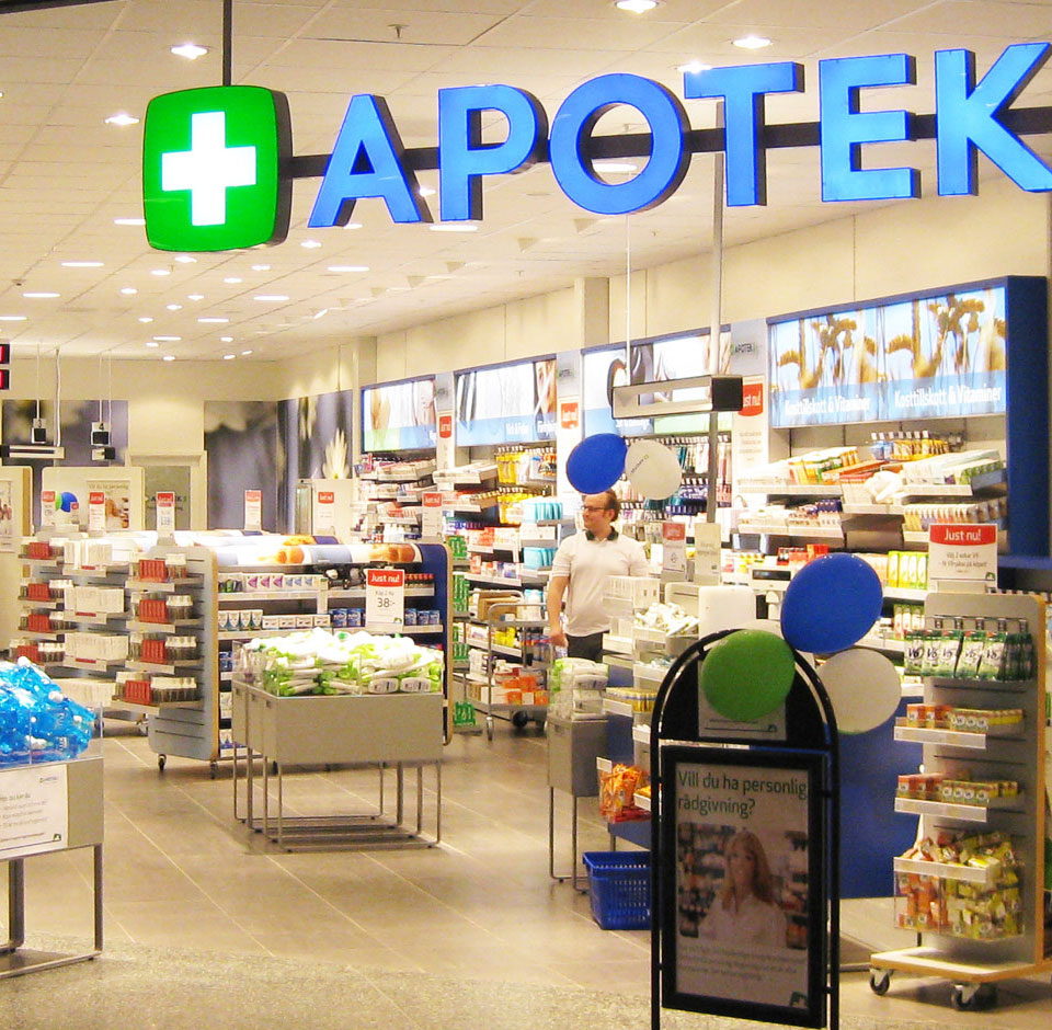 Apotek 1 apotekbutikk