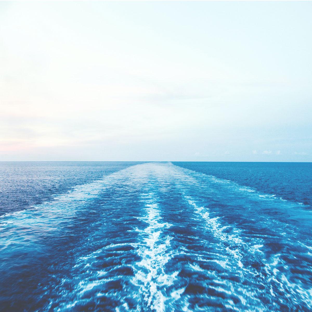 Bølger efter Color Lines krydstogtskib