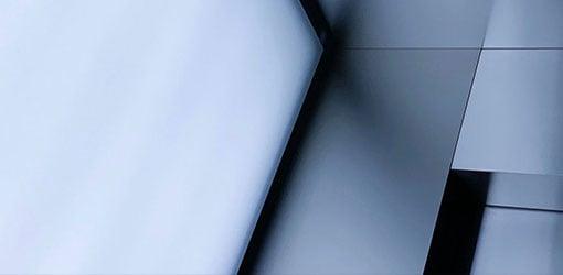 Aluminiumsplader i en tæt op