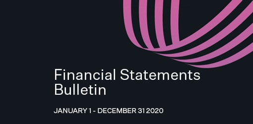 Solteq News - Financial Statements Bulletin cover