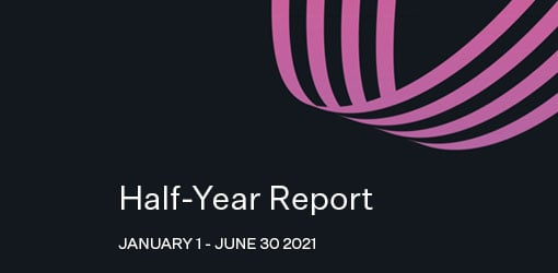 Solteq News - Half-Year Report cover