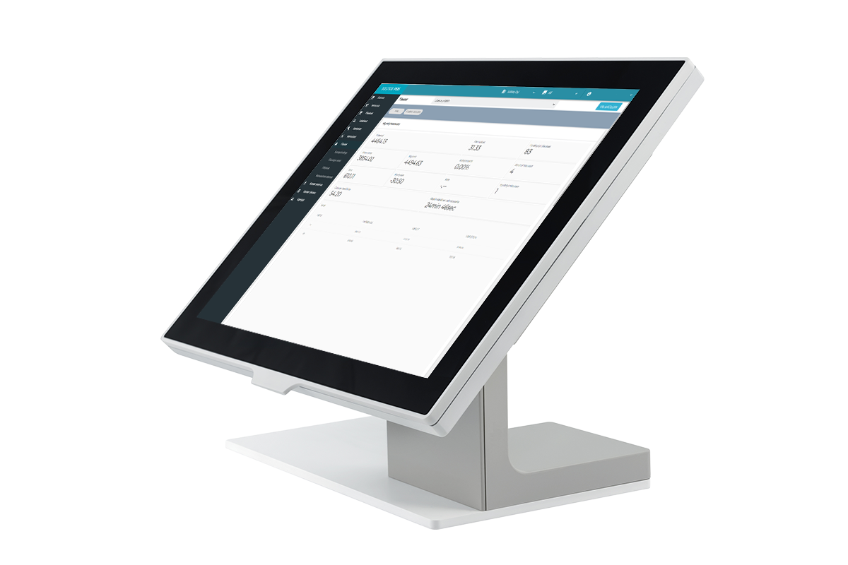 Solteq Cloud POS - user intarface of a store system solution for taking payments