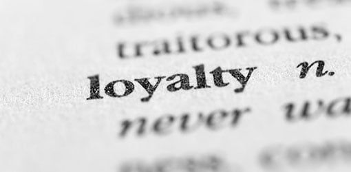 Loyalty - sanakirjan sana