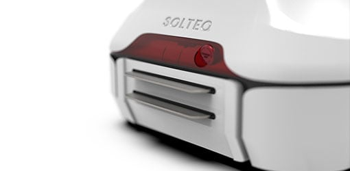 Solteq Retail Robot - close up