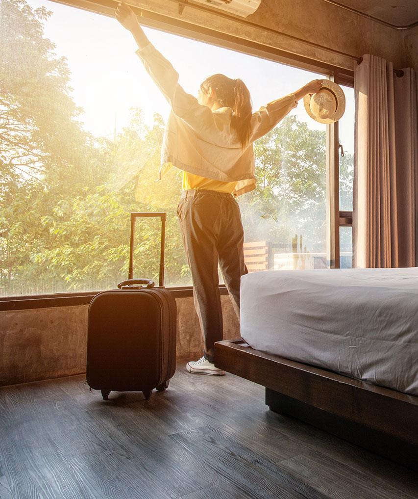 Hotellbokningssystem- gäst i centrum